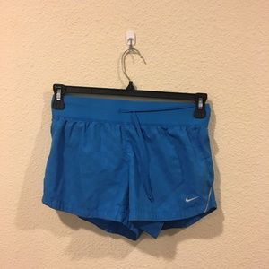 Nike dri-fit blue shorts